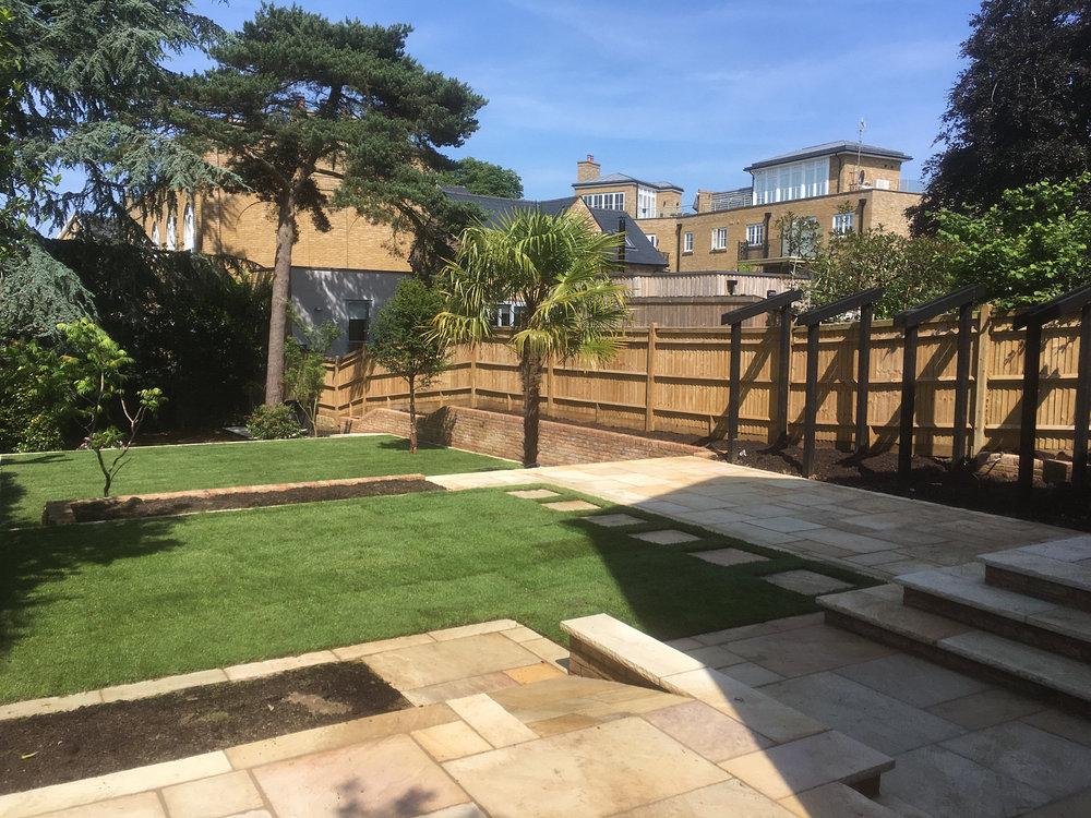 Terraced Sevenoaks Garden